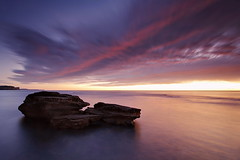 North Bungan Colour (Tim Donnelly (TimboDon)) Tags: ocean sea seascape sunrise australia nsw cokin bungan