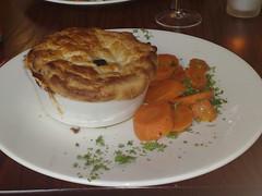 Game pie at Leith Lynx, Edinburgh