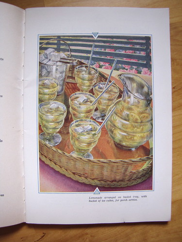 """Silent Hostess"" Treasure Book: Lemonade"