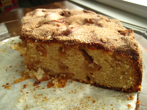 cinnamon apple cake.