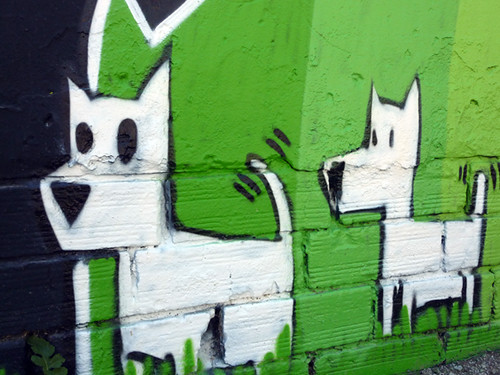 dogs graffiti, Tàrrega