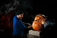 Flaming slice - Day 63c/365 - Vote Now! (Von Wong) Tags: slice half sword vonwong