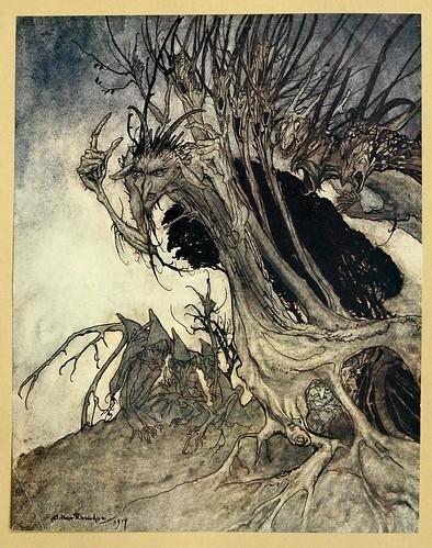 012-Comus de John Milton-ilustrada por Rackham 1921