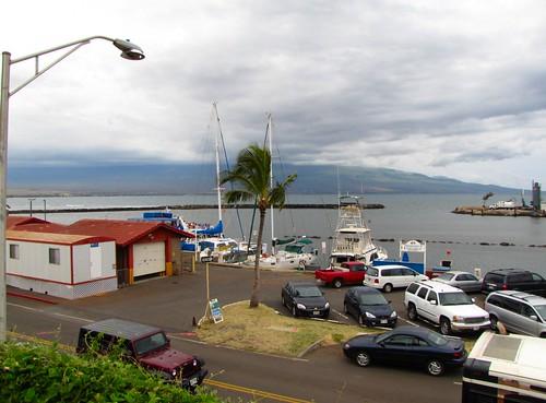 dock outside the aquarium