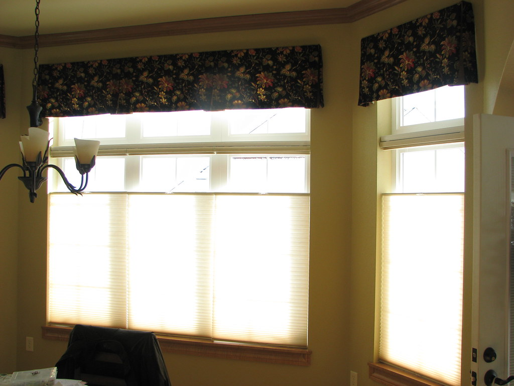 Board Mounted Valances & Duette Honeycomb Shades