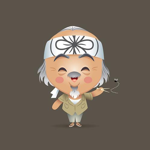 Kawaii Mr. Miyagi by Jerrod Maruyama
