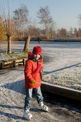 IJspret (webted) Tags: winter ice iceskating skating nederland thenetherlands vinkeveen schaatsen koud vorst icecold ijspret waverveen botshol vrieskou schaatspret schaatstocht ijsvloer schaatsplezier ijsdikte