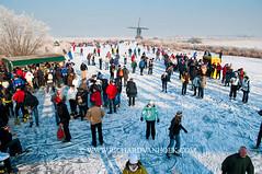 090110Molentocht9369 (richardvanhoek) Tags: nederland molentocht ijs schaatsen vorst winterweer vriezen schaatstocht winterijspret
