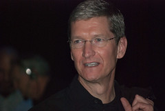 Tim Cook, new Apple CEO