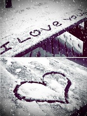 i heart you... (jami_lee) Tags: snow love writing heart you freezing iloveyou frostbite