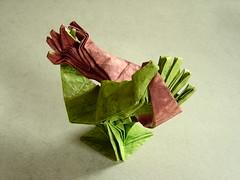 Kezek / Hands á'la MCEscher (peterbud) Tags: origami paperfolding