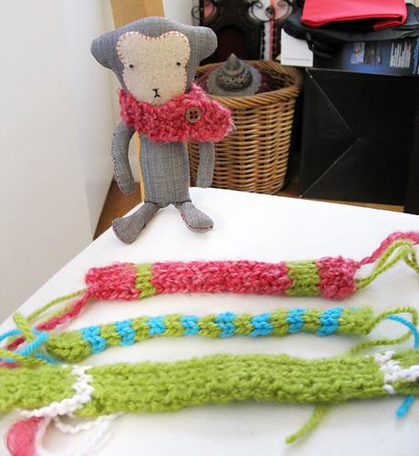 le Carotte's mini scarves
