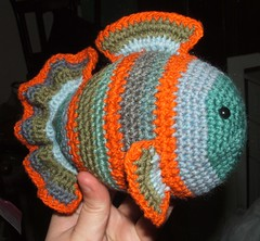 Free Crochet Pattern For Small Fish : Apocalypse Knits: Fredde the Fish pattern