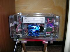 Plexy Homemade PC no uv (Andrea Pini) Tags: pc homemade custom plexy