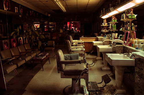 Closing Time #3: Barber shop by gorbould