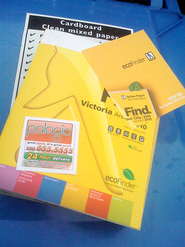 Phone Book, From Front Door to Recycling Bin
