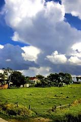 Poland, Kopan (b_piotrowska) Tags: summer sky canon village poland polska clauds landskape wies chmury niebo krajobraz pejzaz barbarapiotrowska