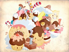 Candy's (lucas.leite) Tags: ice skull cookie candy icecream worm biscoitos doces bolos sorvete