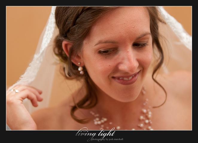 Bride with veil.