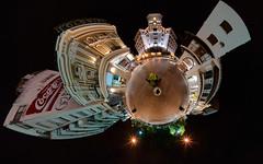 Hotel Salta Stereographic (Mantis of Destiny) Tags: argentina canon5d salta stereographic ptgui littleplanet canon15mm nodalninja3 garretveley