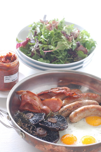 the big breakfast with chilli jam