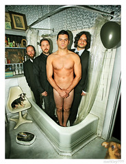 dredg - Bathtub Portrait with Snortzle, Butterface, Scale & Black Balloon (merkley???) Tags: sanfrancisco california portrait usa darkroom photoshop saturated photoshopped plastic portraiture safe oversaturated retouched excess airbrush toomuch overdone airbrushed digitaldarkroom threequestionmarks threequestionmarkscom merklefied merklefication