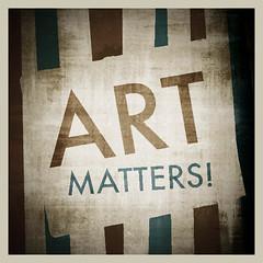 ART MATTERS (Stromboly) Tags: art texture poster typo matter