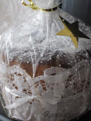 Фото упаковка для кулича