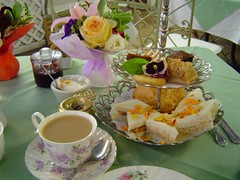 Afternoon Tea @ Tea Rose Garden