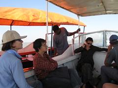 Boat trip, Bahir Dar