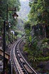 bukit bendera.. (~ kokstang) Tags: sunset car train traditional cable hanging lama penang langkawi brigde rumah bukit tradisional bendera helang mahsuri