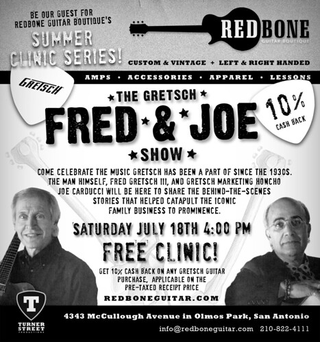 The Gretsch Fred & Joe Show 07.18.09