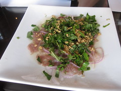Pagolac in San Francisco - Course 1: Raw beef salad