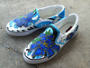 Blue Peones Shoes Blue Peones Shoes