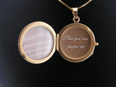 Renesme Locket (la bottega dei desideri) Tags: twilight foto jewelry porta oro argento locket ciondolo gioielleria portafoto placcato renesmee renesme