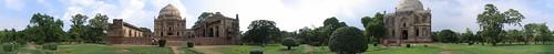 Lodhi Gardens Panorama