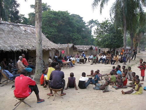 In the village of Ngondo