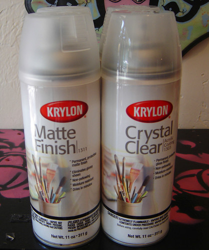Krylon Clear Coats
