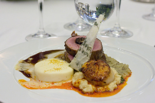 Veal, Scallops, and Mousseline
