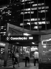 paulista (Caró) Tags: brazil night sãopaulo noite paulista metrô avenidapaulista metrôconsolação