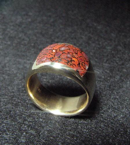 14k Neon Gembone Ring