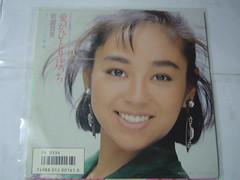 原裝絕版 1985年 10月 岩崎良美 安達充 TOUCH II 黑膠唱片 中古品 2