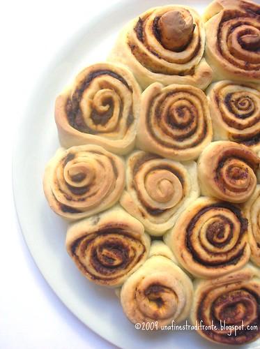 Torta di rose piccante
