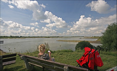 Opijnen   view over the river the Waal.... (betuwefotograaf) Tags: holland netherlands river waal gelderland betuwe relaxt visitekaartje waaldijk opijnen betuwefotograaf wwwbetuwefotoeu