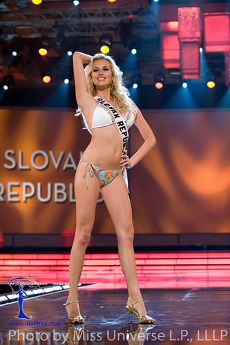 Denisa Mendrejova in swimwear