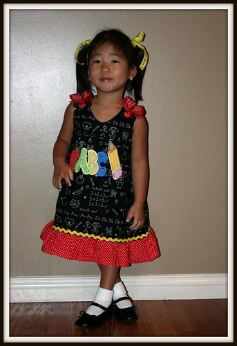 Mylee's first day of school 002