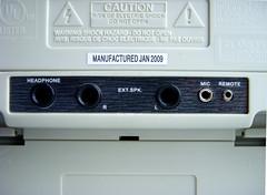 2395IR Rear panel