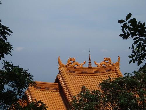 你拍攝的 圖片3-仙公廟屋頂。