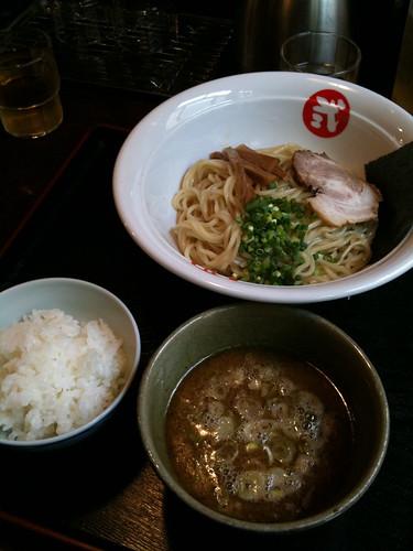 和浦酒場弐にて昼に麺