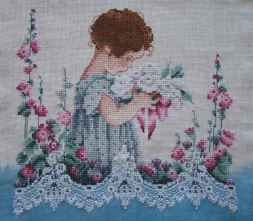Lavender & Lace. Emma's garden